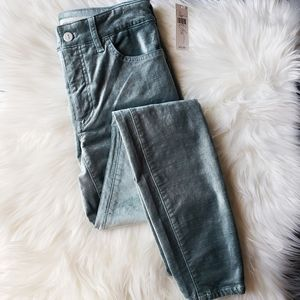 | Anthropologie | Pilcro High Rise Velvet Jeans